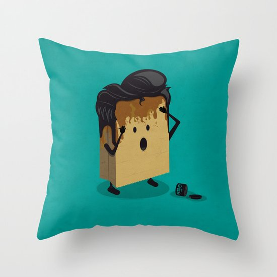 Fashion Victim Throw Pillow
