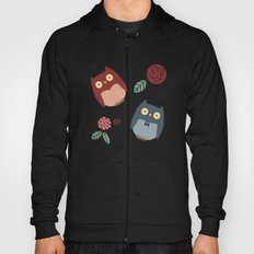Owls with flowers Hoody