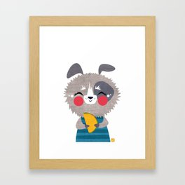 Taco Dog Framed Art Print