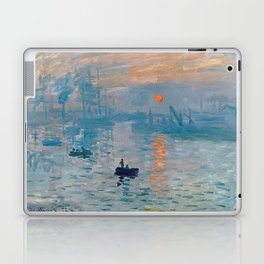 Claude Monet Impression Sunrise Laptop & iPad Skin