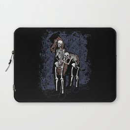 Anatomy of a Fake Horse Laptop Sleeve