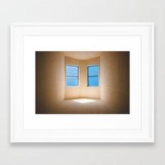 Pleasing Light, 118 minutes later Framed Art Print