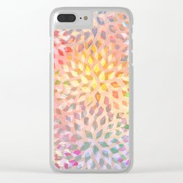 Summer Pattern #2 Clear iPhone Case