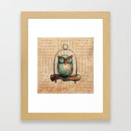 Wise Owl II Framed Art Print