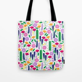 Mt. Rainier's Wildflowers Tote Bag