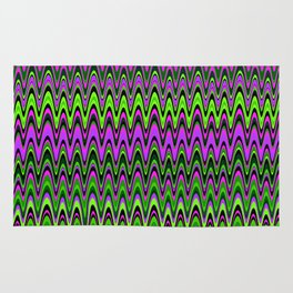 Making Waves Neon Lights Rug