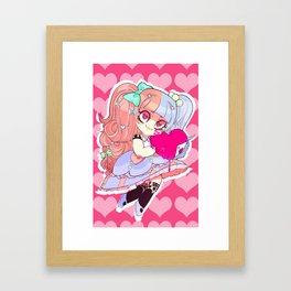Your heart is mine now Framed Art Print