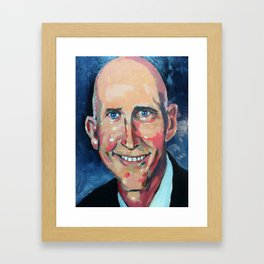 Taliban Republican: Rick Scott Framed Art Print
