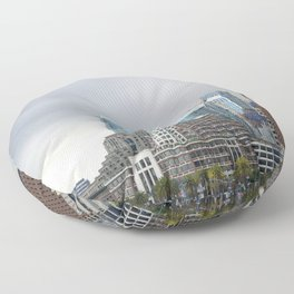 Downtown San Francisco, Changing Skyline Floor Pillow