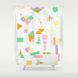 Juxtapose Shower Curtain