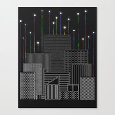 City Space To The Stars Canvas Print