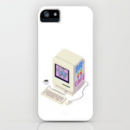 Cafe Terminal by MuffinLord iPhone Case