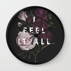 I Feel It All Wall Clock
