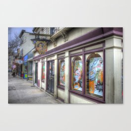 Downtown Newport, RI Canvas Print