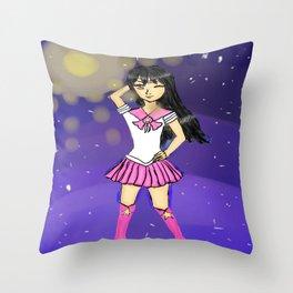 Seira as sailor scout Throw Pillow