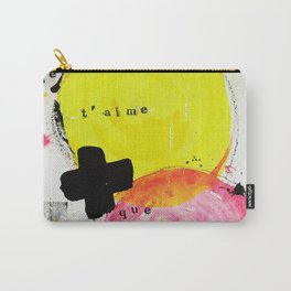 Je t'aime + que toi Carry-All Pouch