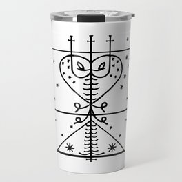 Maman Brigitte Veve Spirit World Blessings Voodoo Goddess Travel Mug