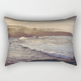 Cambria California Coastline Rectangular Pillow