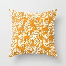 Spring Orange Throw Pillow