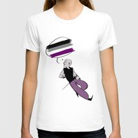 asexual T-shirts featuring Asexual Pride by Error