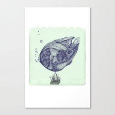 Floating Fish Canvas Print