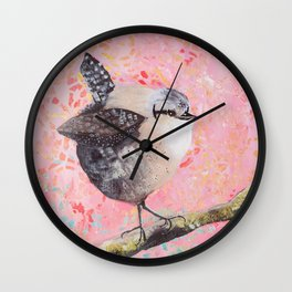 Fat Bird Wall Clock