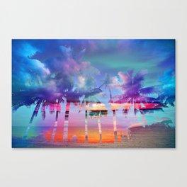 Naples MashUp V Canvas Print