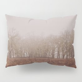 Foggy Trail to the Trees Pillow Sham