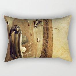 Blakeney Boats 2 Rectangular Pillow
