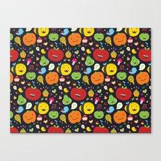 Fruticas pattern Canvas Print
