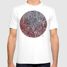 Networks MEDIUM Mens Fitted Tee White