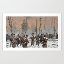25 February 1831 Art Print