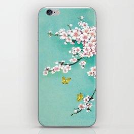 Dreamy cherry blossom iPhone Skin
