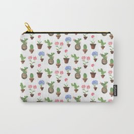 Cactus, Potted Succulents, Succulents, Cacti Art Carry-All Pouch
