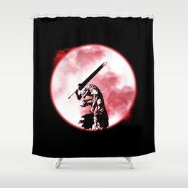Berserker Moon Shower Curtain
