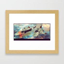 Enroute to Outstation 5 Framed Art Print