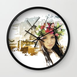 Ukraine Wall Clock