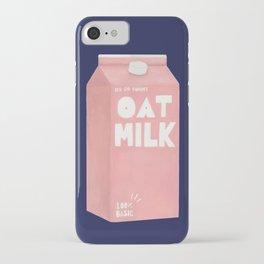 Oat Milk Pop Art iPhone Case