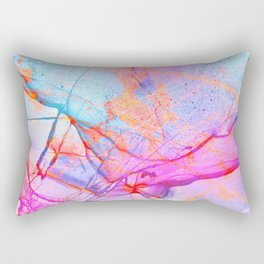 Graffiti Candy Marble Rectangular Pillow