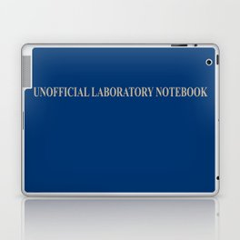 Unofficial Laboratory Notebook Laptop & iPad Skin