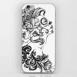 Day of the Dead Russia iPhone Skin