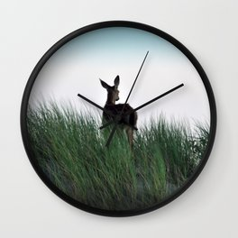 Deer Stop Wall Clock