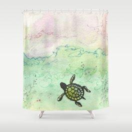 Odyssey Turtle Shower Curtain
