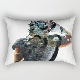 Soldier Hero Rectangular Pillow