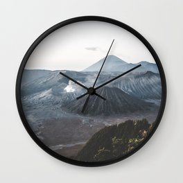 Bromo, Indonesia Wall Clock