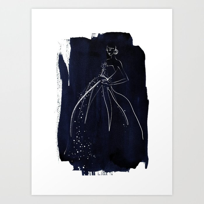 BLUE no. I Art Print