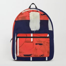 Stitch in Time - line graphic Backpack