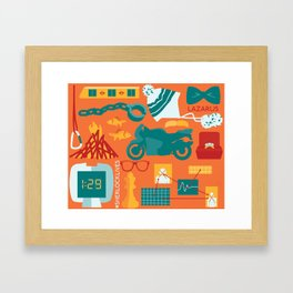 The Empty Hearse Framed Art Print