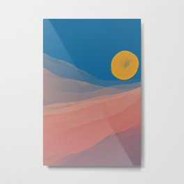 Somewhere Between Dusk And Dawn Metal Print