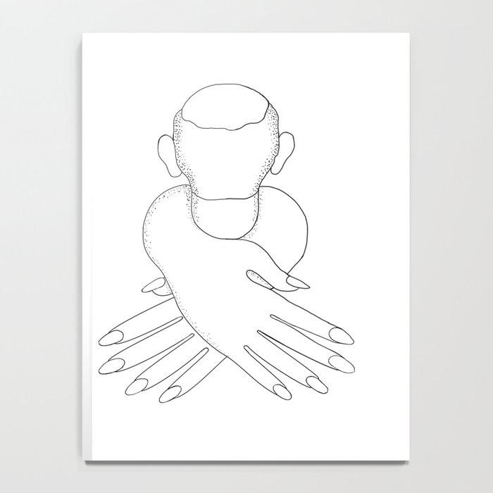 male in female hands Notebook